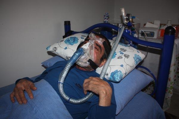 Akciğer nakli olmazsa hayatını kaybedecek!