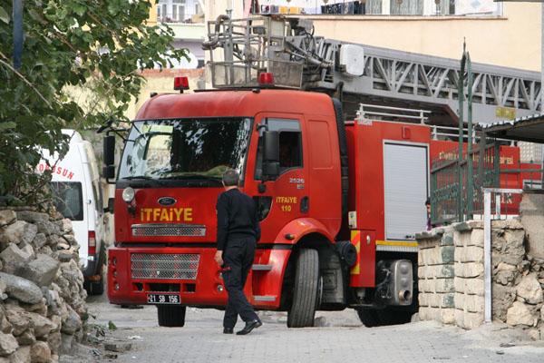 Diyarbakır itfaiyesi bir yılda 5 bin 892 olaya müdahale etti