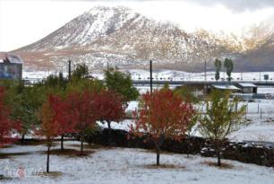 VİDEO HABER – Kar yağışı kartpostallık görüntüler oluşturdu