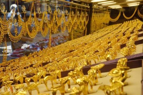 Altın fiyatlarında yükseliş sürüyor
