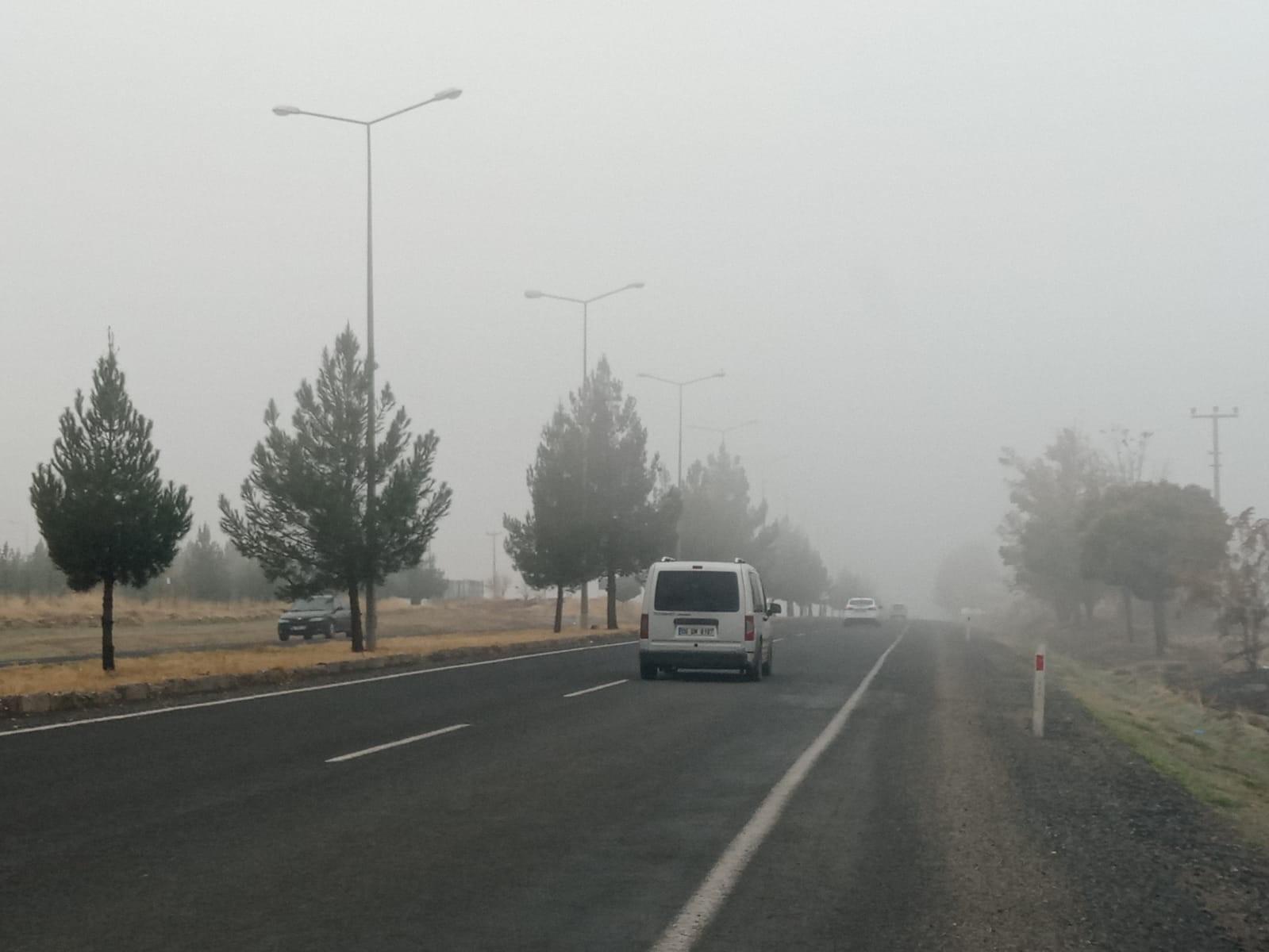 Diyarbakır güne sisle uyandı