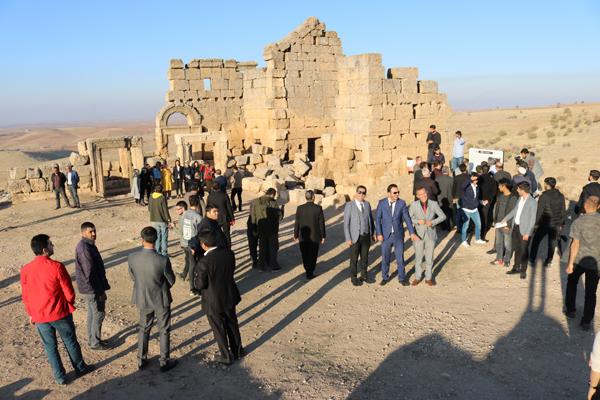Zerzevan Kalesi ziyaretçi rekoru kırdı