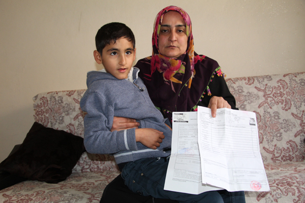 Efrahim'in yardım çığlığı: İyileşmek istiyorum