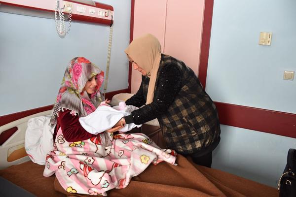 Bağlar'da 'Hoşgeldin bebek' projesi
