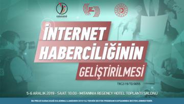 """BİK'ten """"İnternet Haberciliği Eğitimi"""""""
