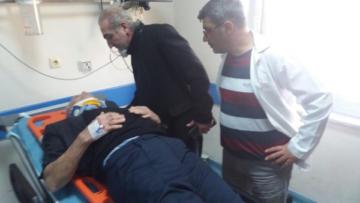 Demirtaş'ın ailesi trafik kazası geçirdi