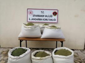 Kocaköy'de 364 kilo esrar ele geçirildi