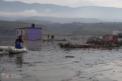 VİDEO HABER – Baraj havzasında mahsur kalan hayvanlar kurtarıldı