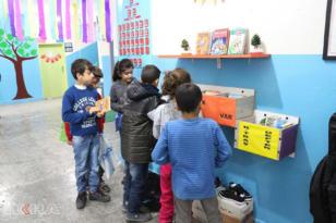VİDEO HABER – Bu okulun askısında 'iyilik' var