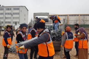 AFAD gönüllüleri Diyarbakır'a döndü