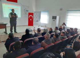 Bağlar Belediyesi personeline deprem eğitimi