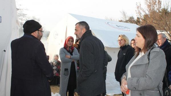 'Yardımlar bazı deprem mağdurlarına ulaştırılmadı'