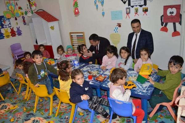 Beyoğlu'ndan Aile Destek Merkezine ziyaret