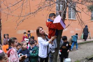 Bismil'den Kuşlara Bir Damla Umut Projesine destek