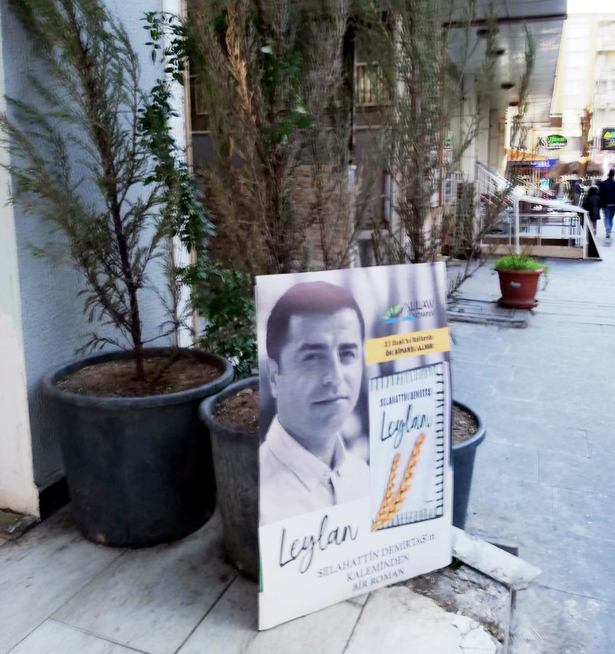 """Demirtaş'tan yeni bir eser: """"Leylan"""""""