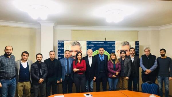 BM Özel Raportörü Diyarbakır'da hak savunucularıyla görüştü