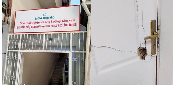 Bismil Ağız ve Diş Sağlığı Merkezi'nde hırsızlık