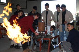 İtme kuvvetli LPG'li jet motoru yaptılar!