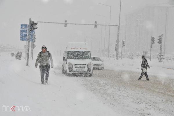 Eğitime kar engeli: Okullar 14 Şubat'ta da tatil edildi