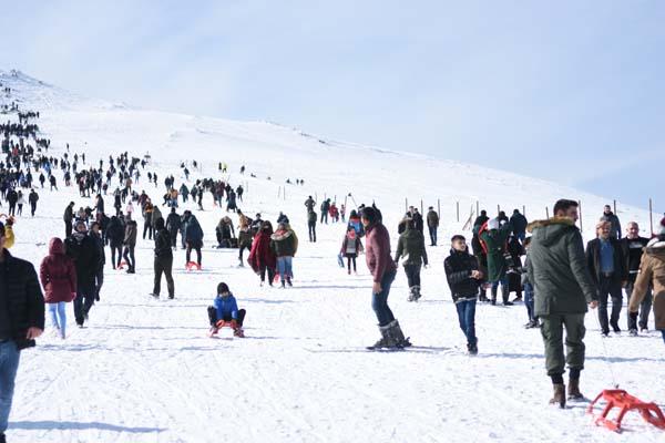 Karacadağ'da kayak keyfi!
