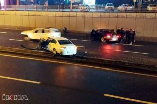 VİDEO HABER – İki araç çarpıştı: 2 yaralı