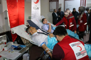 VİDEO HABER – İl Milli Eğitim Müdürlüğünden Kızılay'a kan bağışı seferberliği