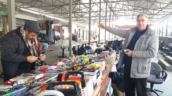 Halk pazarı esnafından güvelik kamerası talebi