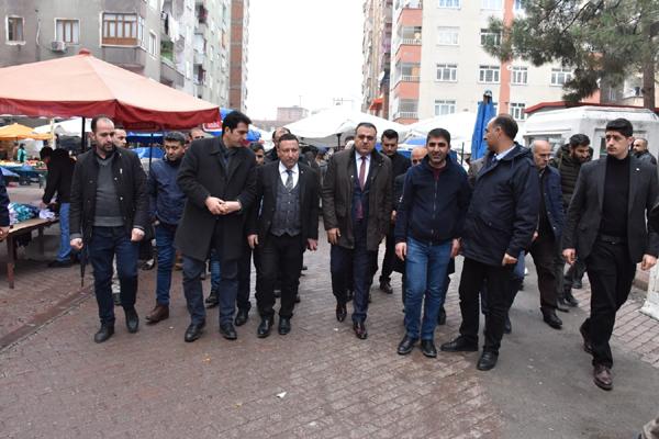 Beyoğlu, Sakarya Caddesinde incelemelerde bulundu