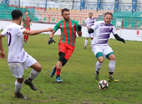Hazırlık maçının kazananı Diyarbekirspor
