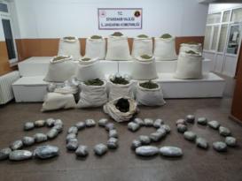 Operasyonda yakalanan uyuşturucuları satıyorlardı