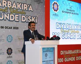 'Diyarbakır'da içme suyu sorununu çözeceğiz'