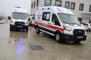 Diyarbakır'da 3 adet acil yardım ambulansı hizmete girdi