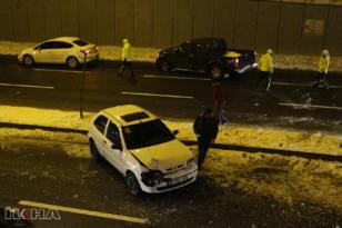 VİDEO HABER – Buzlanma kazaya neden oldu