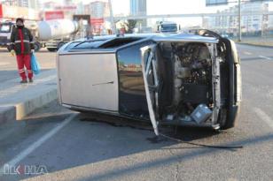 VİDEO HABER – Buzlanma kazaya neden oldu!