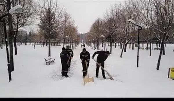 Sevda Kaplan Yazdı: Kar temizlemekte bir sanat