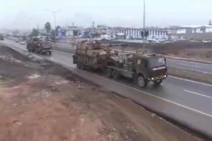 VİDEO HABER – Suriye sınırına askeri sevkiyat sürüyor