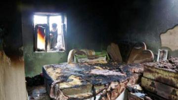 Ev yangınında 1 çocuk yaşamını yitirdi