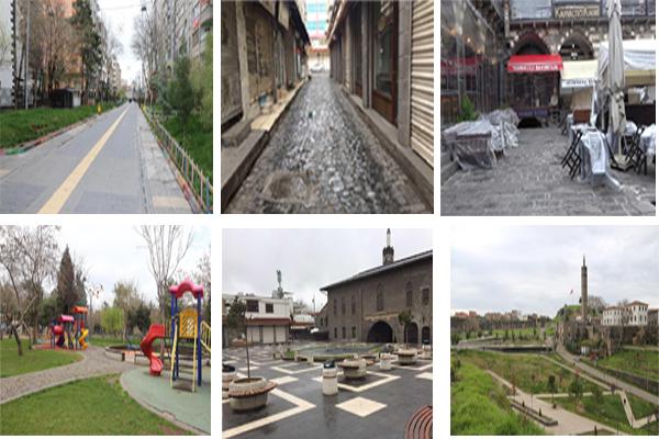 VİDEO HABER – Diyarbakırlılar hafta sonu evde kaldı!