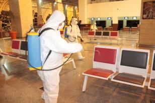 Toplu kullanım alanları dezenfekte ediliyor!
