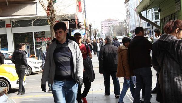 Diyarbakır sokaklarında 'korona gerginliği!'