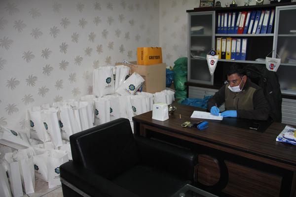 Büyükşehir Belediyesi'nden gazetecilere korona paketi