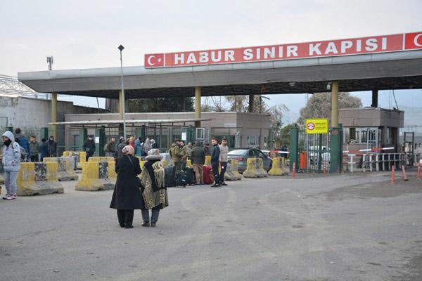 VİDEO HABER – Habur Sınır Kapısı kapatıldı