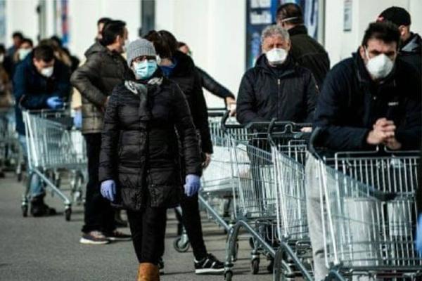 Marketlerdeki korona virus tehlikesine dikkat