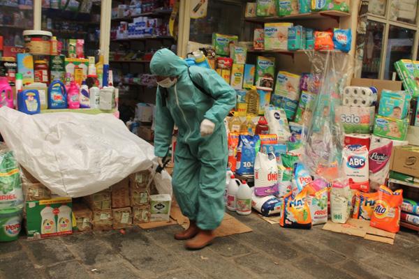 Sur'da korona virüsüne karşı sıkı tedbir