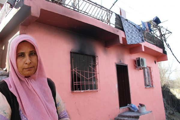 VİDEO HABER – Evi yanan yetim aile yardım eli bekliyor