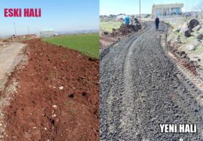 Kırsal bölgedeki yollar yenileniyor!