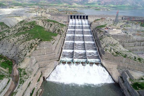 VİDEO HABER – DSİ: Ilısu Barajı'nda Dolusavak test ediliyor