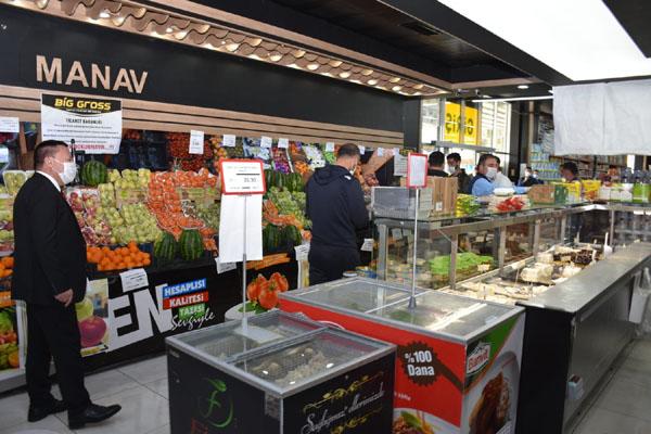 Beyoğlu marketleri denetledi