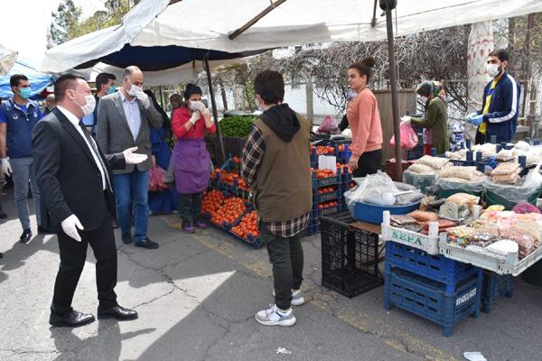 Beyoğlu, Kadın Semt Pazarını denetledi