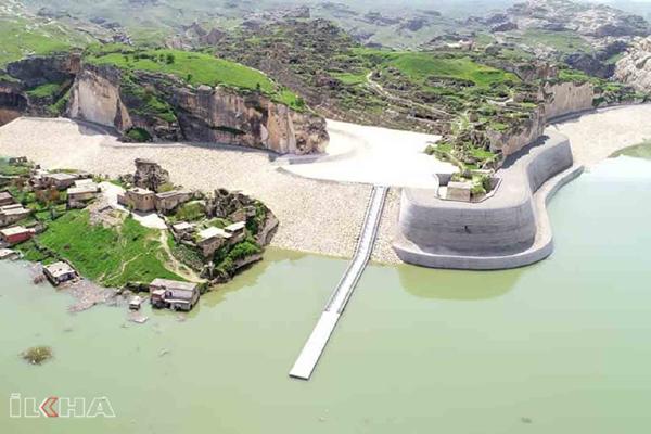 VİDEO HABER – Binlerce yıllık tarih ile sular altında